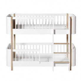 Mini+ Low Bunk Bed 68x162cm - Oak