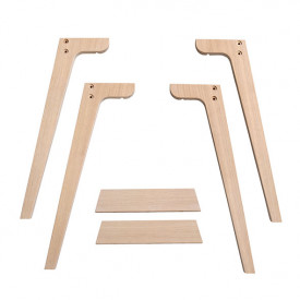 Extra Legs for Wood Desk - H. 66 cm