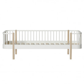 Wood Day Bed 90 x 200 cm - Oak