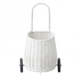 Luggy Basket - White