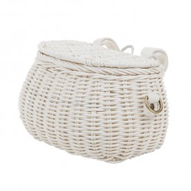 Mini Chari Basket - White