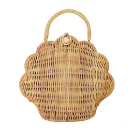 Shell Purse - Straw
