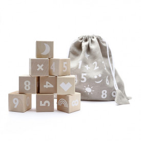 Math Blocks - White
