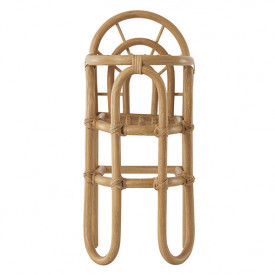 Rattan Doll's Highchair