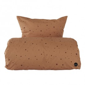 Dot Bedding Caramel - 140x200