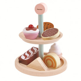 Bakery Stand Multicolour Plantoys