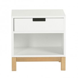 Indigo Night table - White