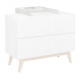 Trendy changing station extension - White