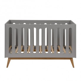 Trendy Convertible Crib 70x140cm - Griffin Grey