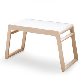 B Table - With Drawers - Natural