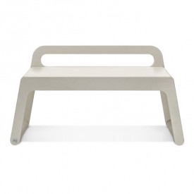 BB Bench 90 cm - White Wash