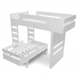 F&R Bunk Bed - White