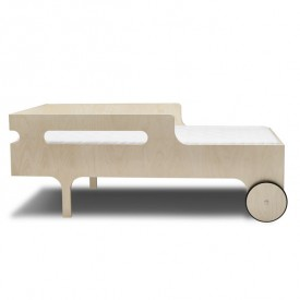 R Toddler Bed - Natural