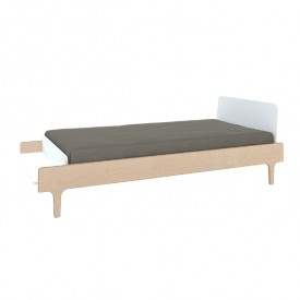 River Twin Bed 90 x 200 cm - Birch
