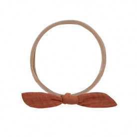 Little Knot Headband - Terracotta