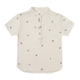 Mason Shirt Short Sleeves - Bees