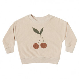 Terry Sweatshirt - Cherry