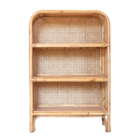 Jack Rattan and Cane Bookcase