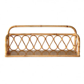 June Rattan Wall Shelf