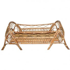 June Rattan Junior Bed - 70 x 140 cm