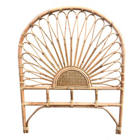 Flores Rattan Headboard for 90cm Bed