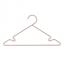 Set of 3 metal hangers - Pink