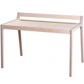 Wood and green felt Afra desk