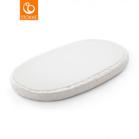 Mattress Coverfor Sleepi Baby Bed - White - 116 x 64 cm