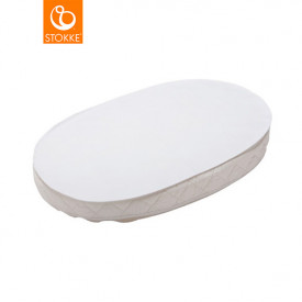Mattress Coverfor Sleepi Mini Cradle - White - 72 x 54 cm