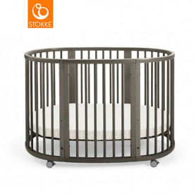 Sleepi Baby Crib - Mattress incl. - Hazy Grey