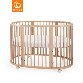Sleepi Baby Crib - Mattress incl. - Natural