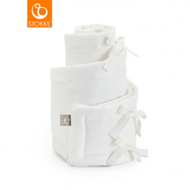 Sleepi Mini Cradle Bumper - White