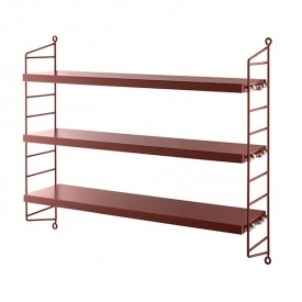 Pocket Shelf - Burgundy