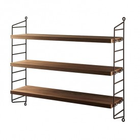 Pocket Shelf - Oiled Teak