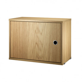 Cabinet w/ Swing Door 58 x 30 cm - Oak