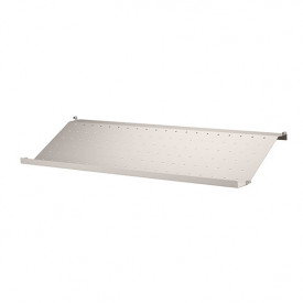 Metal Shoe Shelf 78 x 30 cm - Beige