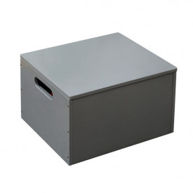 Kids Toy Storage Box - Dark Grey