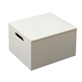 Kids Toy Storage Box - Ivory