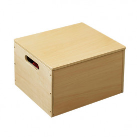 Kids Toy Storage Box - Natural