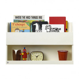 Bunk Bed Wall Shelf - Ivory