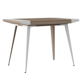 Ambitions Desk - Oak / White