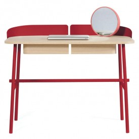 Desk Victor - Cherry Red
