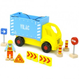 Container Truck and Accessories Set