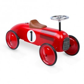 Vintage Kids Ride on Toy Car - Red