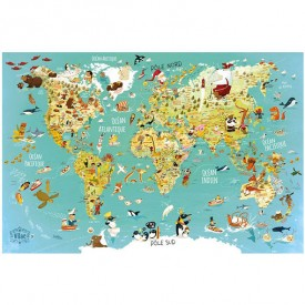 Fantastic World Map Puzzle
