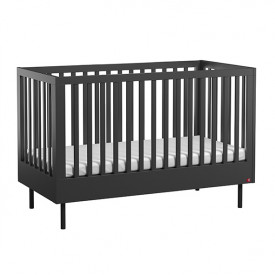 Crib 70 x 140 cm Cute - Black