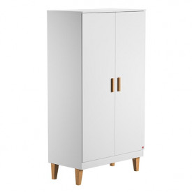 Wardrobe 2 Doors Lounge - White