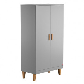 Wardrobe 2 Doors Lounge - Light Grey