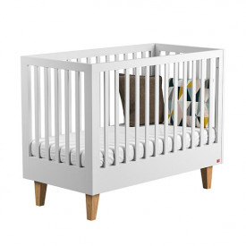 Crib 70 x 140 cm Lounge - White