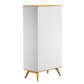 Wardrobe 2 Doors Nature - White